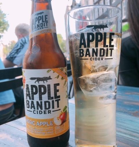 TRAVEL – CIDER – Apple Bandit in AmsterdamNetherlands