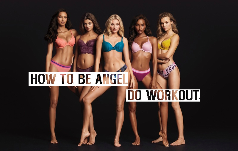 Health Beauty – How To Get Fit Body Like Victoria's Secret Angels / Core WorkoutTutorials