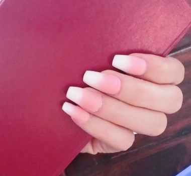 BEAUTY NAILS – Self Nail Art Of The Week 6 – Rosy Baby Boomer Style with PolyGel