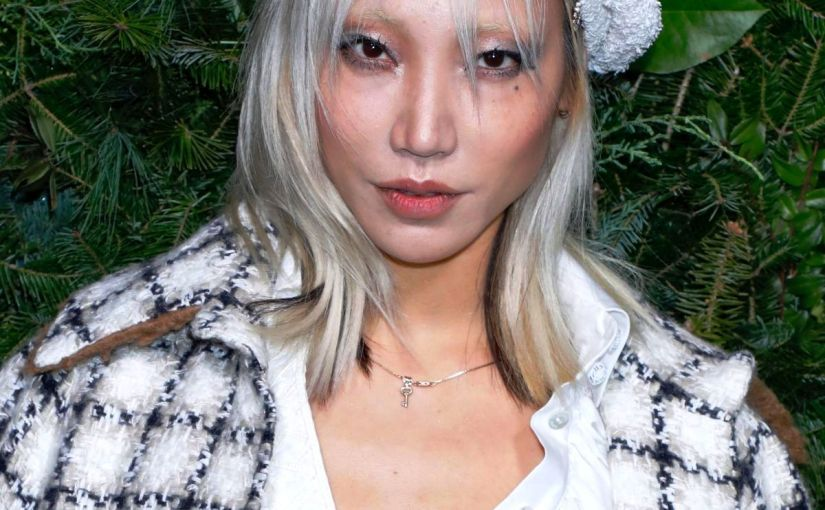 FASHION – Muse Of Chanel – SOO JOO PARK, Iconic Blonde Hair Korean Model