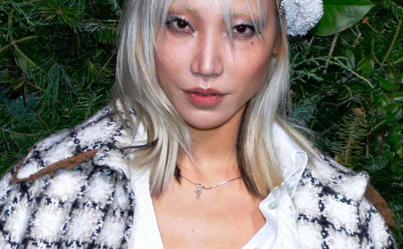 FASHION – Muse Of Chanel – SOO JOO PARK, Iconic Blonde Hair KoreanModel
